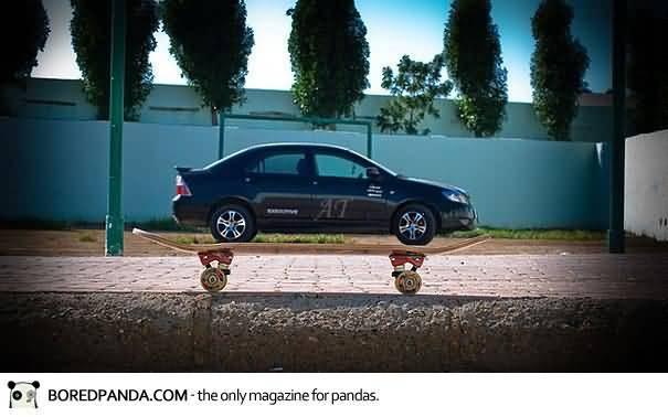 funny-optical-illusion-car-on-skateboard
